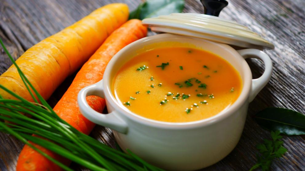 Receta de zanahorias a la crema fácil de preparar