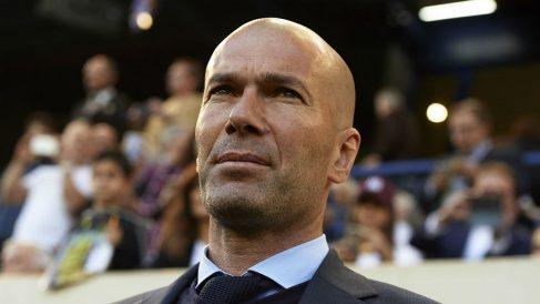 Zidane, en el partido ante el Villarreal (Getty).