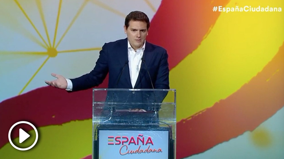 Albert Rivera en el acto de la plataforma «España Ciudadana