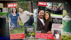 Pablo Iglesias e Irene Montero muestran los lujos de su casoplón en dos portadas ficticias de la revista ¡Hola!