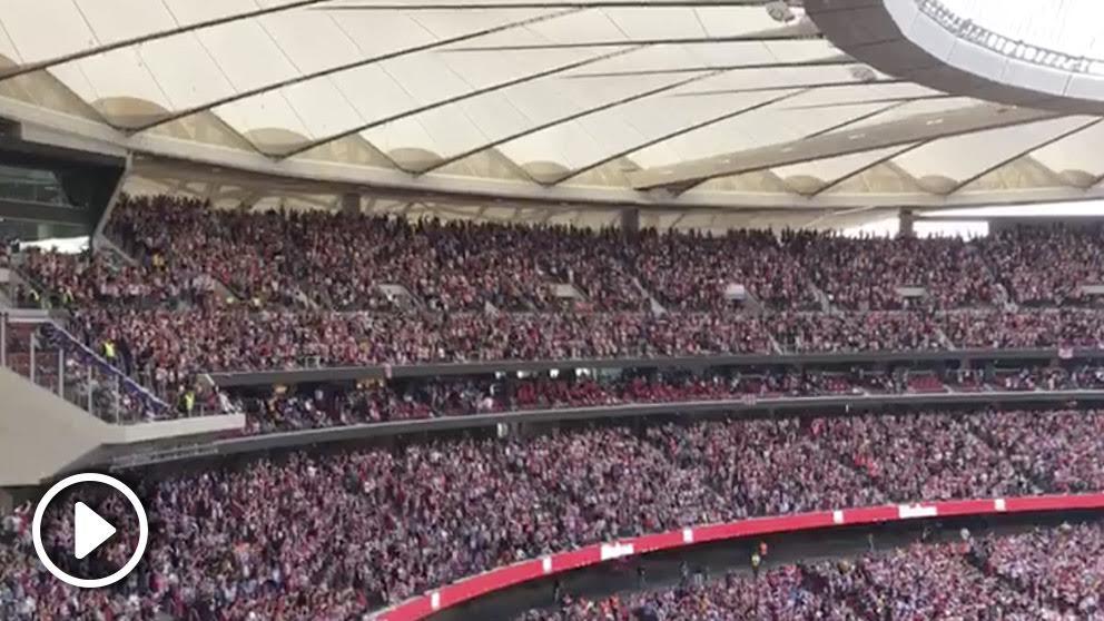 Así fue la celebración del primer gol de Fernando Torres.