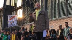 Manifestación de la ANC convocada esta tarde (RRSS).