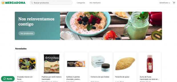 Mercadona estrena su nueva 'web' para la compra online