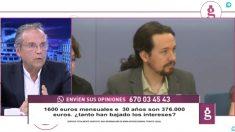El concejal del PSOE en Madrid, Antonio Miguel Carmona, en 'El gato al agua'