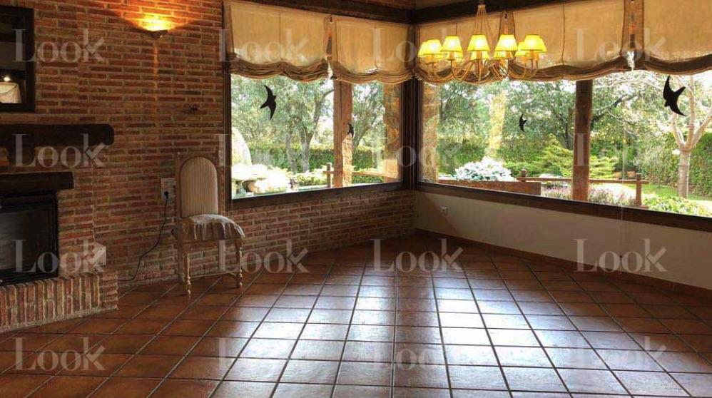Una de las estancias de la casa de Iglesias y Montero.