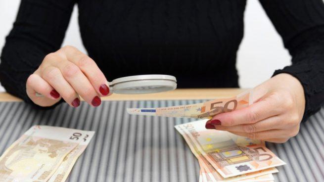 Reconocer billetes falsos