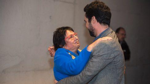 La ex consellera de la Generalitat Dolors Bassa y el presidente del Parlament, Roger Torrent.