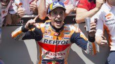 El comienzo de temporada 2018 de MotoGP ha dejado claro que el gran favorito para hacerse con el mundial es Marc Márquez. (Getty)