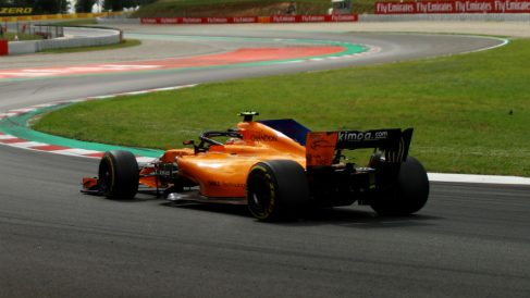 El McLaren MCL33 sigue siendo el monoplaza de Fórmula 1 más lento en recta, a pesar de las mejoras introducidas en el pasado Gran Premio de España. (Getty)