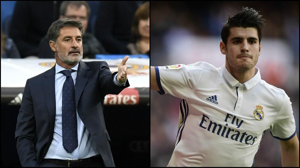 Míchel critica la decisión de Morata de irse del Madrid. (Fotos: AFP)