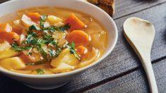 Receta de Puerros con patatas y zanahoria vasco-navarros