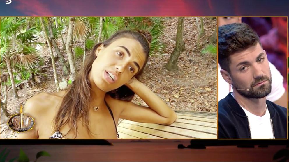 Sofía recuerda a su ex en 'Supervivientes'