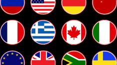 Las banderas son los símbolos más visibles de los países