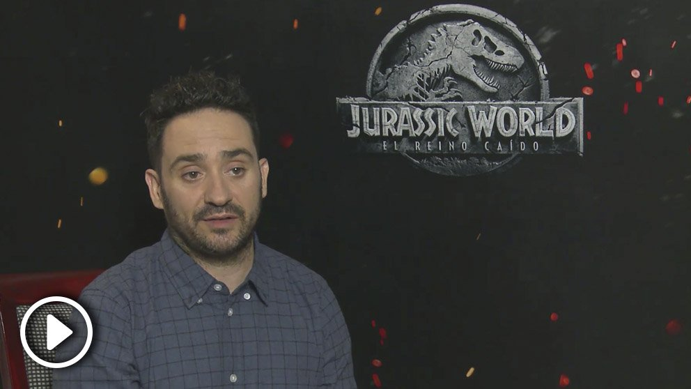 J. A. Bayona presenta 'Jurassic World: el reino caído'.
