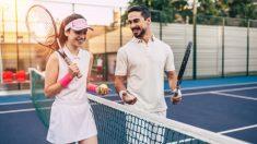 Pasos para llevar los marcadores de tenis