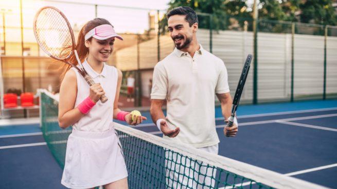 Llevar los marcadores de tenis