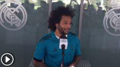 Marcelo habló para los medios de comunicación a cuatro días de la final de la Champions League. Enrique Falcón