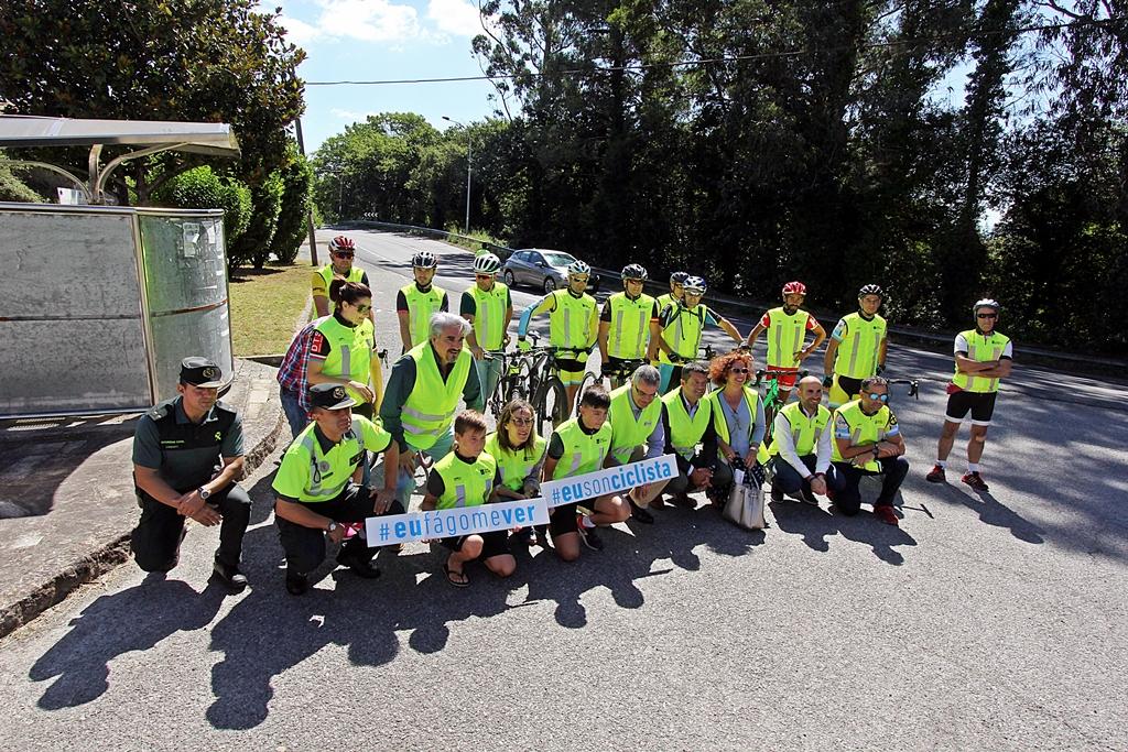 La Xunta de Galicia fomenta la convivencia y el respeto entre los usuarios de la carretera para reducir al máximo los accidentes
