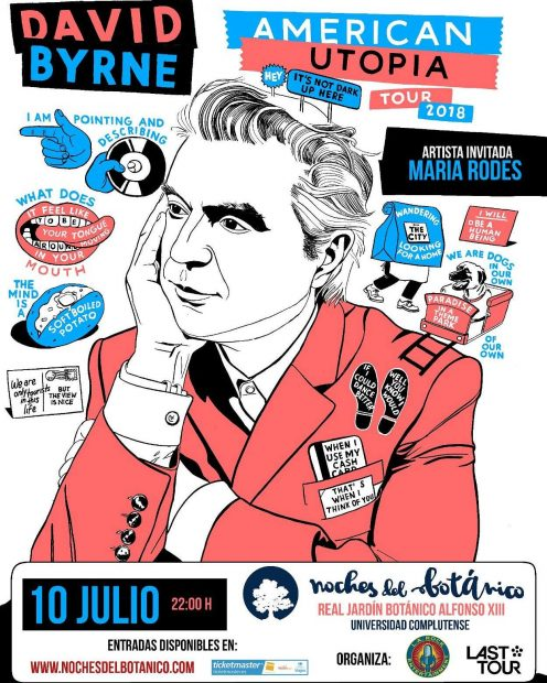 David Byrne - Noches del Botánico