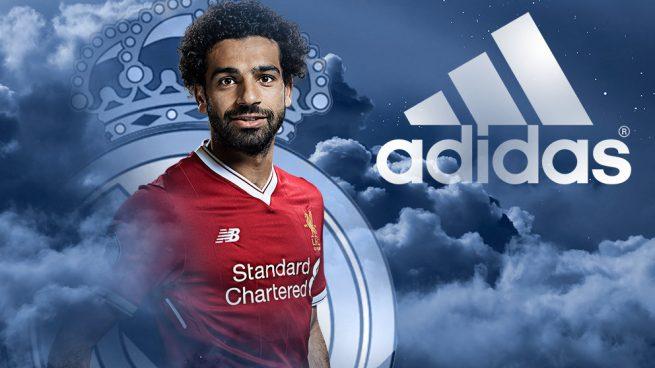 Adidas sueña con Salah en el Real Madrid
