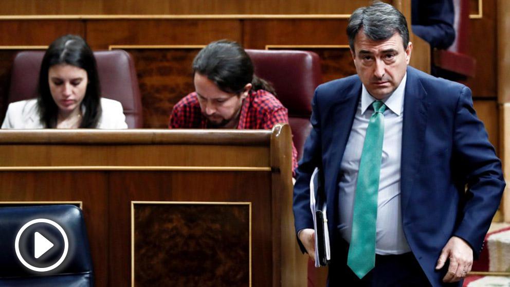 Aitor Esteban, portavoz del PNV en el Congreso. (Foto: EFE)
