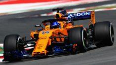 Fernando Alonso ha valorado muy positivamente las mejoras introducidas por McLaren en Montmeló al asegurar que les han permitido dar caza a equipos como Haas o Renault. (getty)