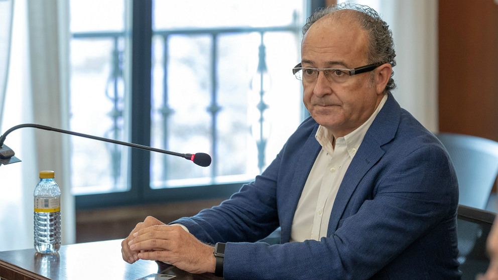 El ex consejero de Innovacion Martin Soler declara en el juicio del 'caso ERE'. (EP)