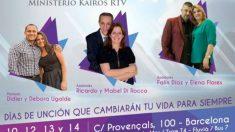"""Los """"apóstoles"""" de la Misión Kairos de Barcelona se anuncian como estrellas de la televisión."""