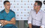 """Lucas Vázquez: """"Fuera de las polémicas, con Piqué nos llevamos muy bien"""""""