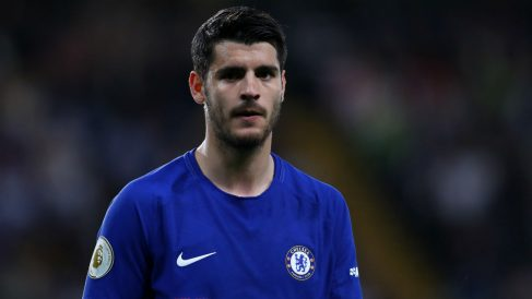 Álvaro Morata podría abandonar el Chelsea en el próximo mercado. (Getty)