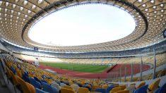 El NSC Olimpiyskiy Stadium de Kievm, sede de la final de la Champions League (AFP).