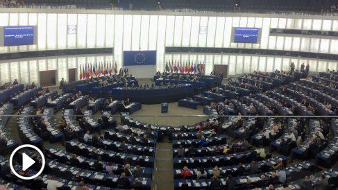 Plenario del Parlamento Europeo, en Estrasburgo. (ADP)