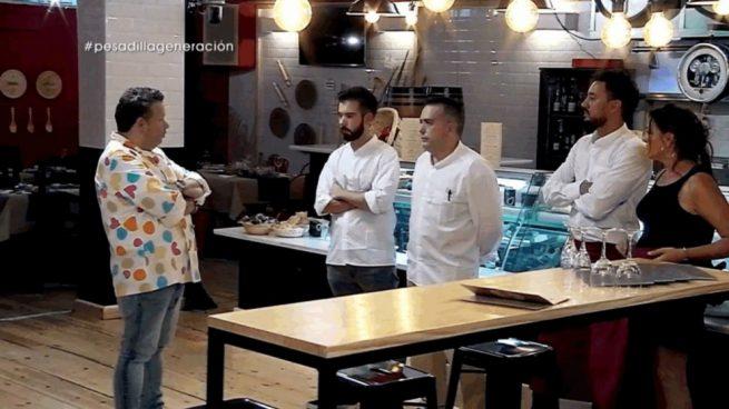 Chicote pierde la paciencia y casi abandona hoy en for Pesadilla en la cocina brasas