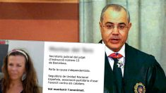 Mensaje publicado por los separatistas con la imagen y datos de la testigo del juez Llarena