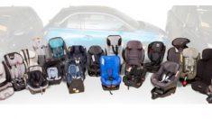 Un estudio de RACE sobre sillas de bebé para el coche suspende a cinco