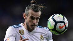 Gareth Bale, durante un partido con el Real Madrid de esta temporada. (AFP)