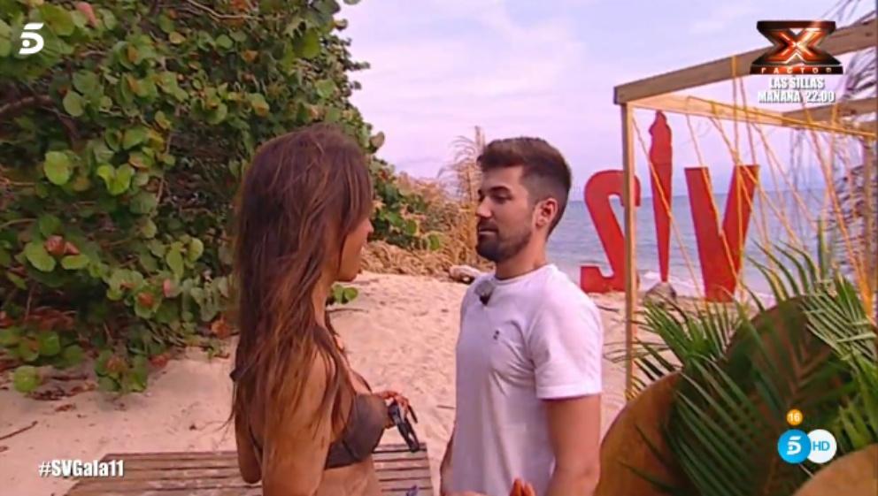 Alejandro y Sofía se reencuentran en 'Supervivientes 2018'