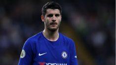 Álvaro-Morata,-durante-un-partido-esta-temporada-con-el-Chelsea-(Getty)