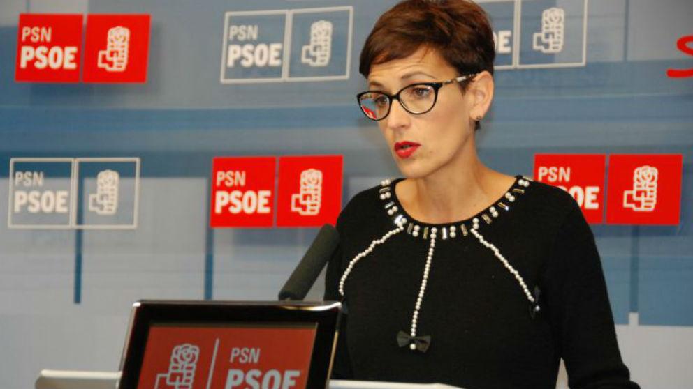 María Chivite, secretaria general del PSN
