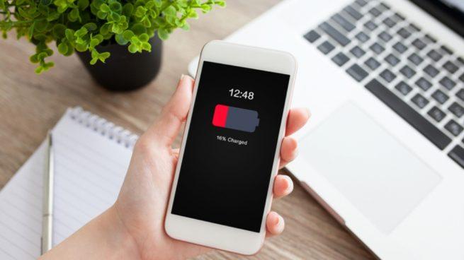 Comprobar el estado de la batería del móvil