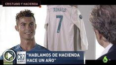 Cristiano habló sobre sus problemas con Hacienda en una entrevista en 'El Chiringuito de Jugones'