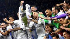 Una imagen de la celebración de la Duodécima (EFE).   Champions League 2018   Real Madrid hoy