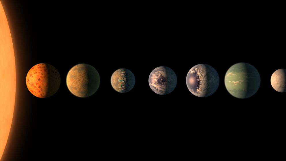 ¿Existe un planeta habitable en el sistema TRAPPIST?