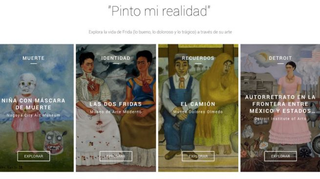 Frida Kahlo Google Arts Culture