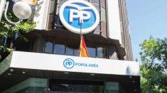 Génova 13, sede del PP, en Madrid. (Foto. PP)