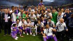 El Real Madrid celebra su última Champions League (Getty)