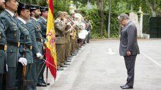 Juan Ignacio Zoido, en el 174º aniversario de la Guardia Civil. (EP)