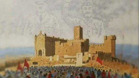 El cuadro cuya exhibición apoyaba Podemos y que ha provocado la indignación de los navarros