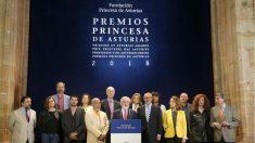 El jurado del premio Princesa de Asturias de las Letras 2018. Foto: EFE