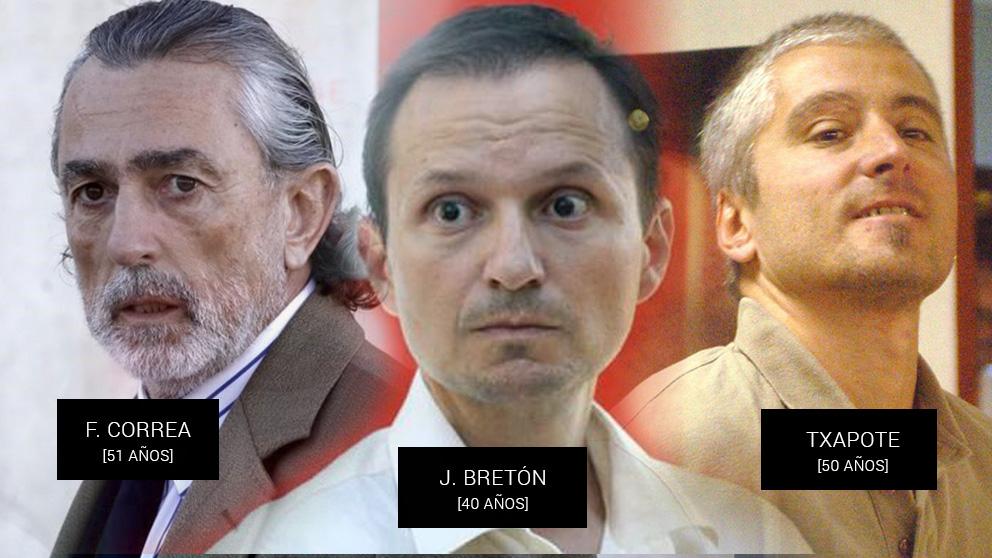 Francisco Correa, José Bretón y el terrorista Txapote